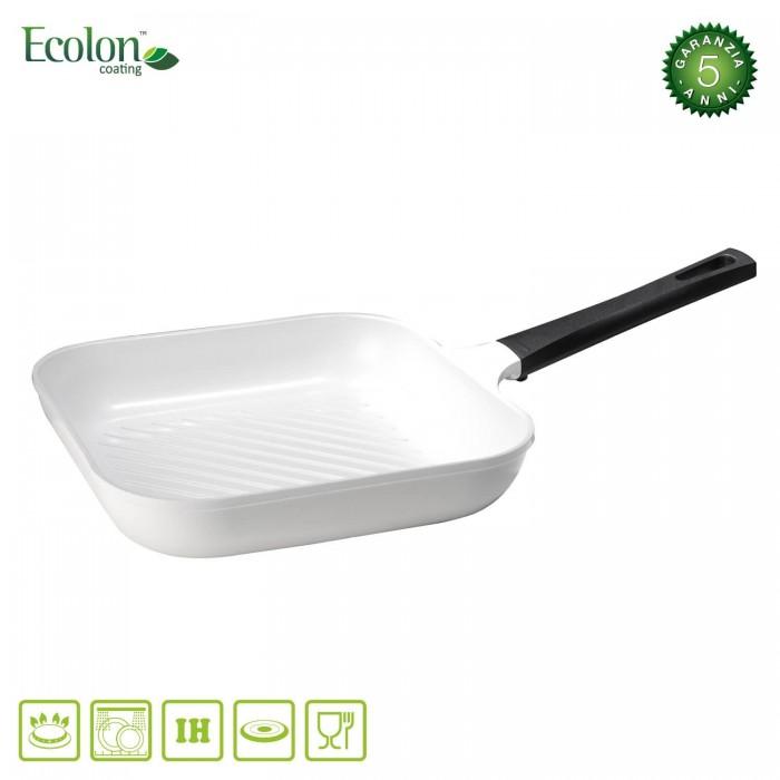 Bistecchiera Ceramica Antiaderente Induzione cm 28