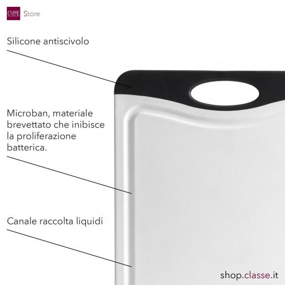 Tagliere Rettangolare Antibatterico 45 x 30 cm