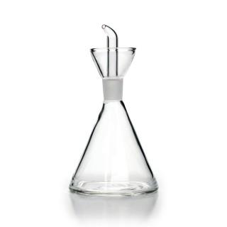 Oliera Conica Vetro Borosilicato Salvagoccia125 ml