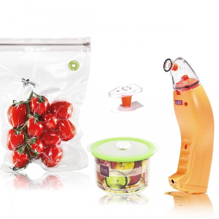 Svuotino Gift - Macchina per Sottovuoto Arancio