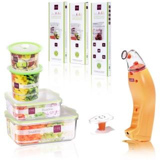 Sottovuoto macchina per conservare alimenti | Set svuotino Family