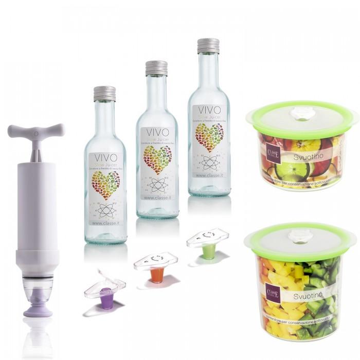 Conservare Succhi Sottovuoto 3,7 litri - Svuotino Bianco