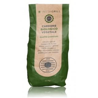 Carbone per Instagrill  Lotus Grill Vegetale di alta Qualità - 2,5Kg