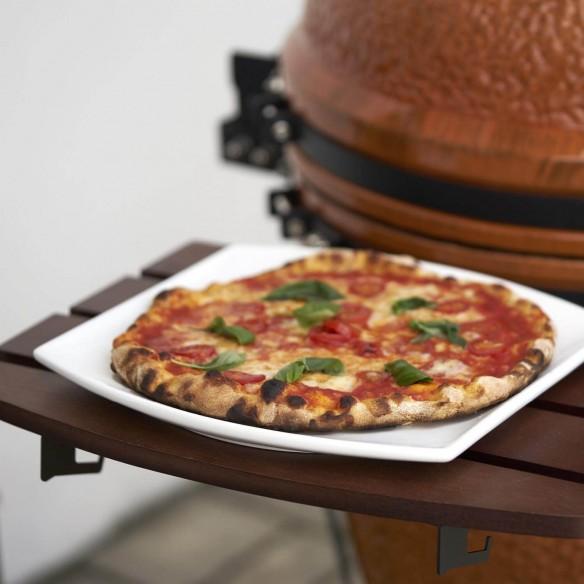 Barbecue Kamado Preparazione Pizza